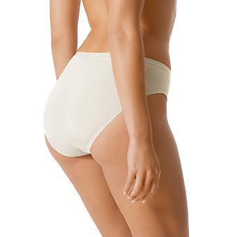 Mey 89200-20 kobiet światła perłowy biały jednolity kolor Pumpy Spodnie krótkie