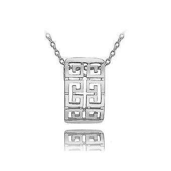 Silver Womens Necklace Modern Design