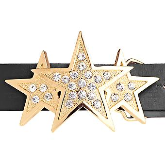 Iced bling cinta - oro TRIPLE STAR