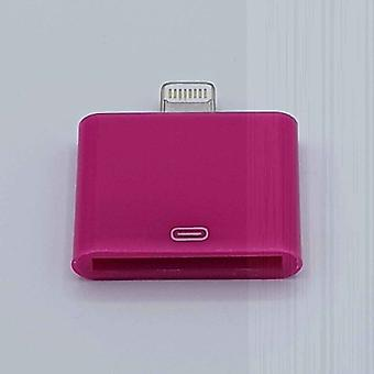 30 Pin to Lightning-kompatibles (8 Pin) Kabel Adapter-für Ipad/iPhone-Fuchsia