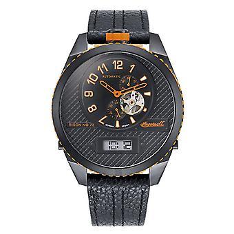 Ingersoll mannen kijken horloge automatische bison N0. 73 IN1716BBKO