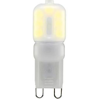 Sygonix LED (monochroom) EEC A+ (A++ - E) G9 Pen 2,5 W = 20 W Warm wit (Ø x L) 16 mm x 48 mm 1 pc(s)