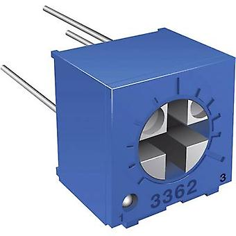 Bourns 3362P-1-102LF Trimming Potentiometer THT 3362P 0.5W Horizontal Adjustable length 1 kΩ 0.5 W ± 10 %