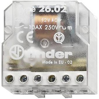 Finder 26.02.8.230.0000 10A Step Relay 26.02.8.230.0000 230 V AC DPST-NO 10 A Max(AC1) 2500 VA/(AC15, 230 V) 500 VA