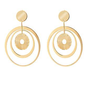 Orphelia Silver 925 Earring satin Gold - ZO-7393