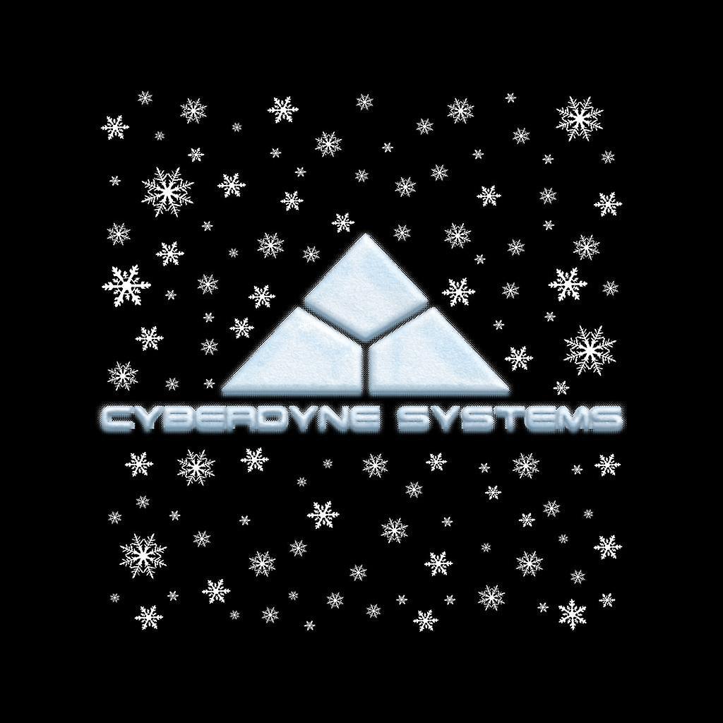 Varsity Jacket de Terminator Cyberdyne Systems Navidad nieve LogoKid