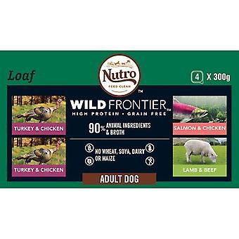 Alimentos para perros ancestrales nutro - 4pk mixta adulto bandejas