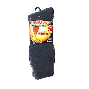 Mens Heatguard Stonewashed Thermal Winter Socks SK116