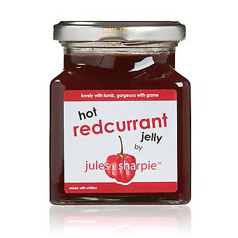 Jules and Sharpie Hot Redcurrant Jelly