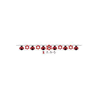 Party favors  garland Ladybug (170 cm)