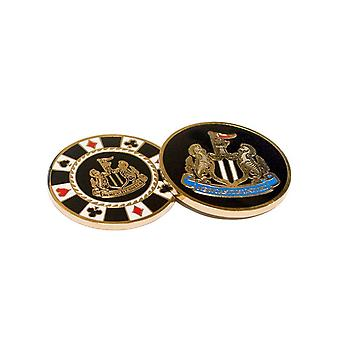 Newcastle United FC Casino Chip markeringsknapp