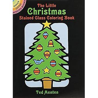 Den lilla julen glasmålningar (Dover lilla aktivitetsböcker)