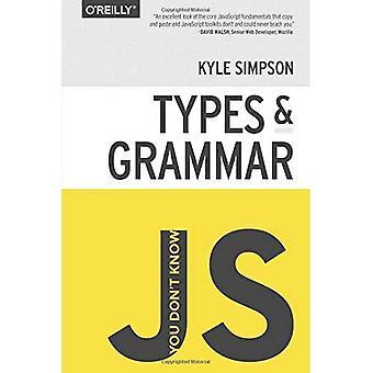 Et tiedä JS: Tyypit & kielioppi