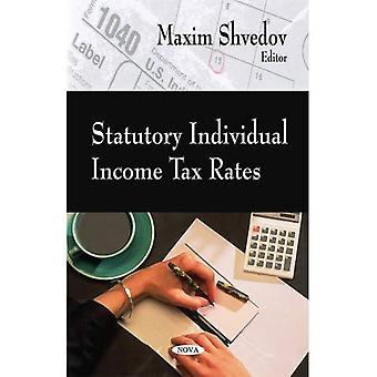 Gesetzlichen Individual Income Tax Rate