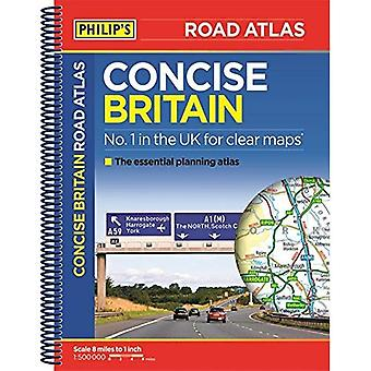 Philip's Concise Atlas Britain: Spiral A5 (Road Atlas)