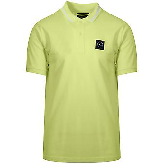 Marshall Artist Lime Green Siren Polo Shirt