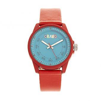 Crayo Jolt Unisex Watch-punainen