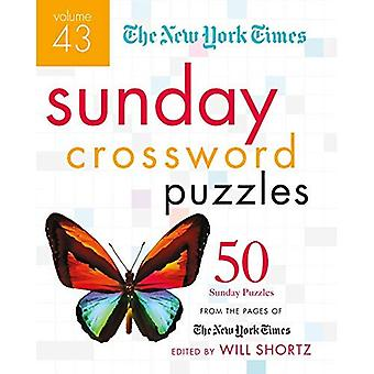 The New York Times Sunday Crossword Puzzles Volume 43: 50 Sunday Puzzles from� the Pages of The New York Times
