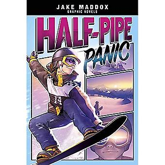 Half-Pipe Panic (Jake Maddox Graphic Novels)