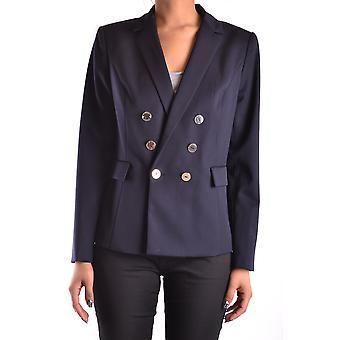 Armani Jeans Ezbc039041 Women's Black Viscose Blazer