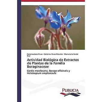 Actividad Biolgica de Extractos de Plantas de la Familia Boraginaceae door Leos Rivas Catalina
