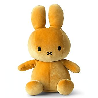 Miffy Sitting Velvet Soft Toy, Ocre