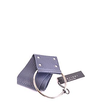 Orciani Ezbc136017 Women's Blue Leather Belt