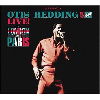 Otis Redding - Live in London & Paris [CD] USA import