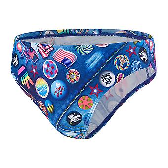 Speedo Retropop 5Cm Allover Brief Swimwear For Boys