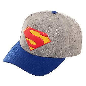 Baseball Cap - Superman - Rebirth Curved bill Snapback New Licensed sb6fruspm