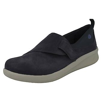 Ladies Clarks Cloud Steppers Loafer Styled Shoes Sillian2.0Ease