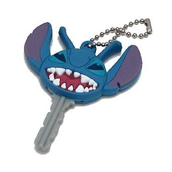 Key Cap - Disney - Stitch PVC Die Cut Holder Gifts Toys New Licensed 21088