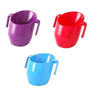 Doidy Cup Bundle - Purple & Red & Blue - Solid Colour 3 Items