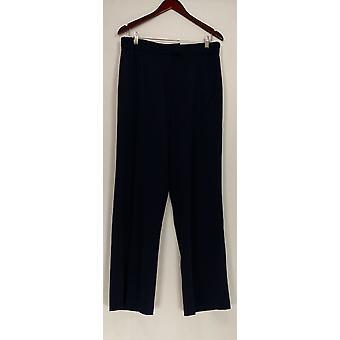 Status por Star Jones mulheres ' s calças estilo calça azul A237776
