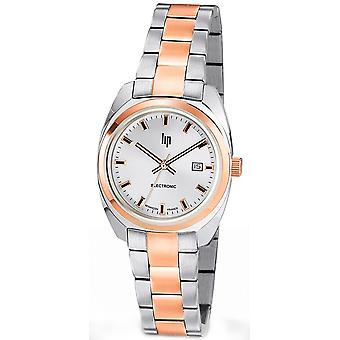 Lip general de gaulle 31 Quartz Analog Woman Watch with 671327 Stainless Steel Bracelet