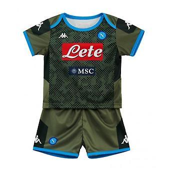 2019-2020 Napoli Kappa Away Football Kit (lapset)