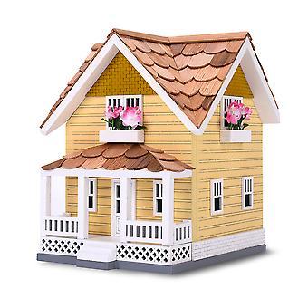 Vonkajší drevený Birdhouse, vták-priateľské ostriež (zlatý remeselník)