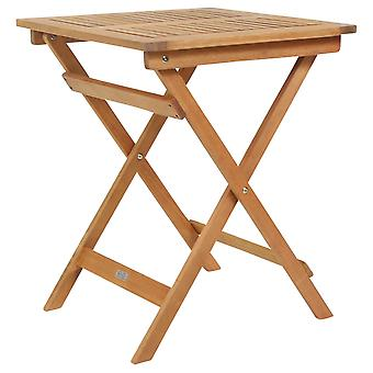 Place Charles Bentley FSC Eucalyptus pliante Table d'appoint en bois