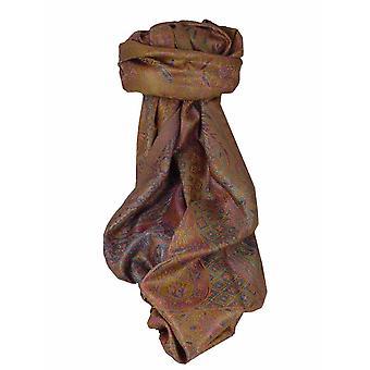 Mens Jamawar Premium Silk Scarf Modello 3909 di Pashmina & Silk