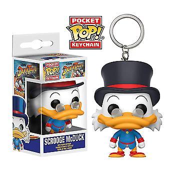 Duck Tales Scrooge McDuck Pocket Pop! Keychain