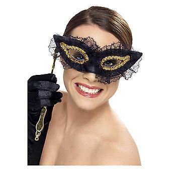 Damskie wybredny GLO Eyemask Fancy Dress akcesorium