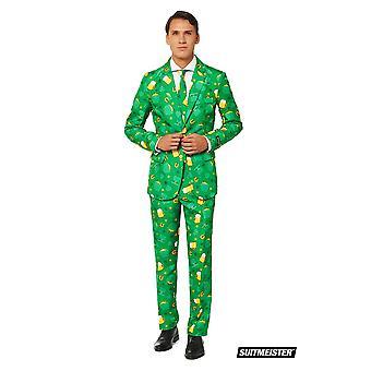 Ierland St. Patrick dag pak Ierland kostuum Suitmaster Slimline Economy 3-delig