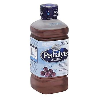 Pedialyte oral electrolyte maintenance solution, grape, 33.8 oz