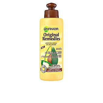 Original de Garnier remedios Crema pecado Aclarado Aguacate y karité 200ml Unisex