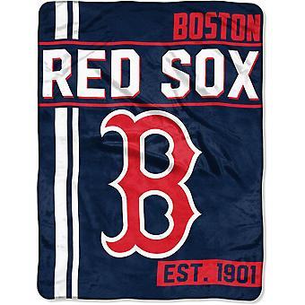 Northwest MLB Boston Red Sox Micro Plush Blanket 150x11