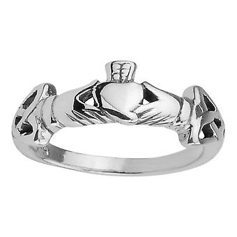 Celtic Irish Claddagh Love Loyalty & Friendship Ring
