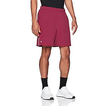 """Starter Men's 7"""" Loose-Fit Stretch Training Short with Liner, Exclusive, Team Maroon, Extra Large"""