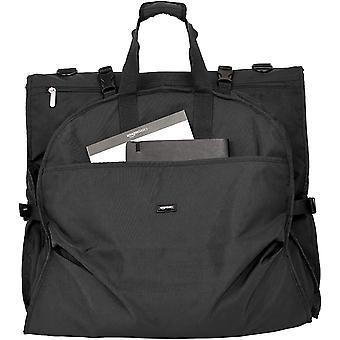 AmazonBasics Premium Tri-Fold Travel Hanging Garment Bag -, Black, Size No Size