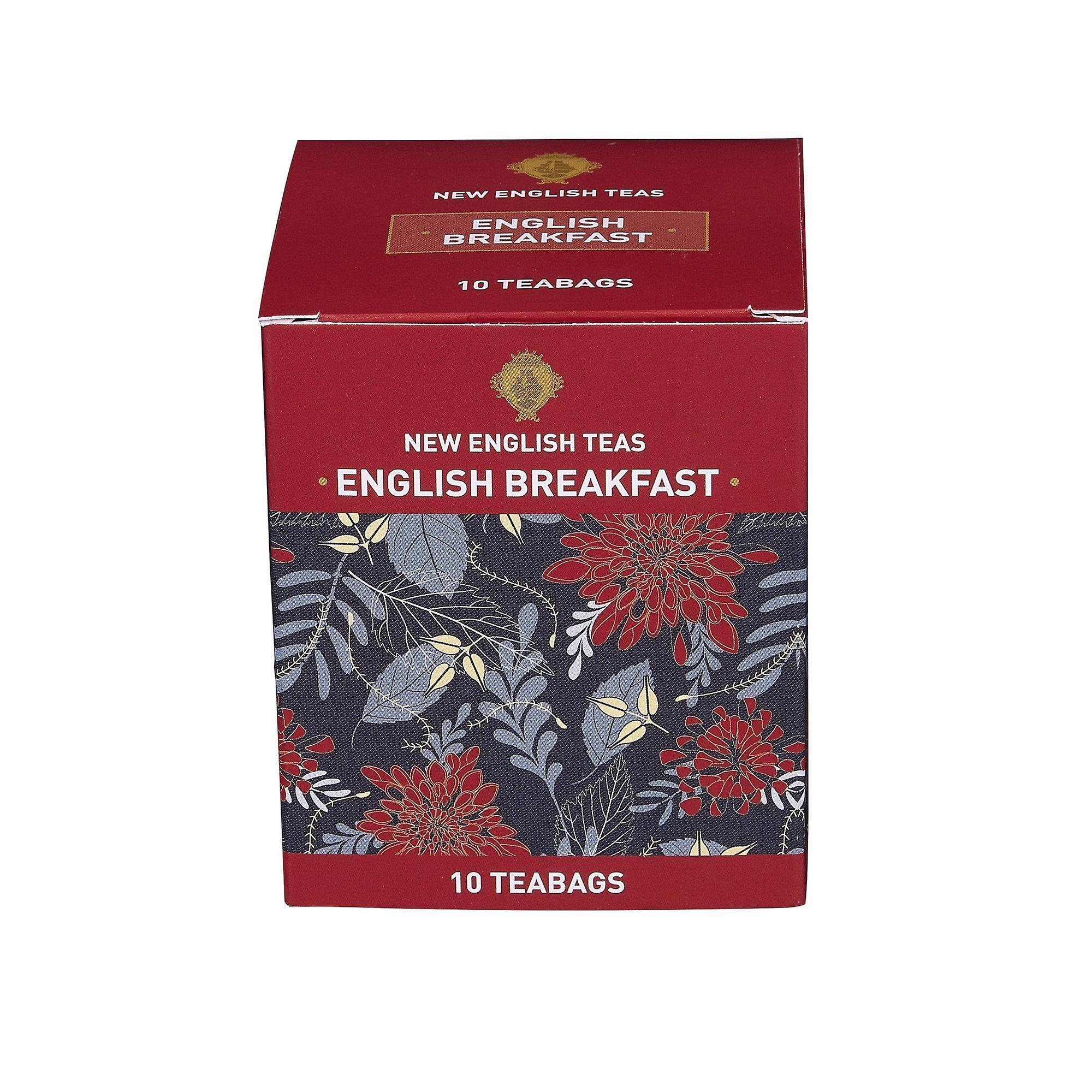English breakfast tea 10 individually wrapped teabags