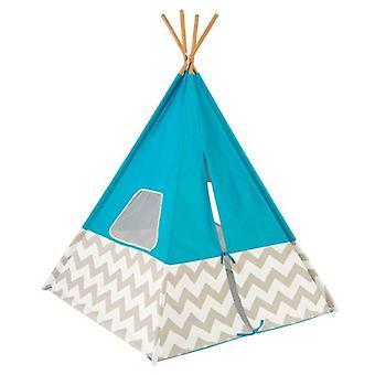 KidKraft Tente Indian Deluxe Turquoise